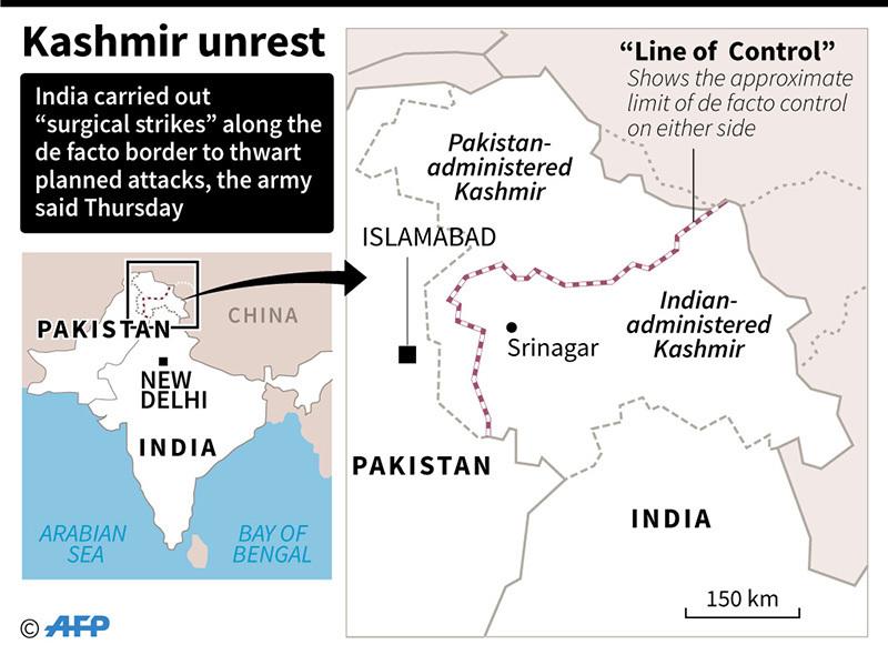 India. Attacco a base militare nel Kashmir, 17 morti